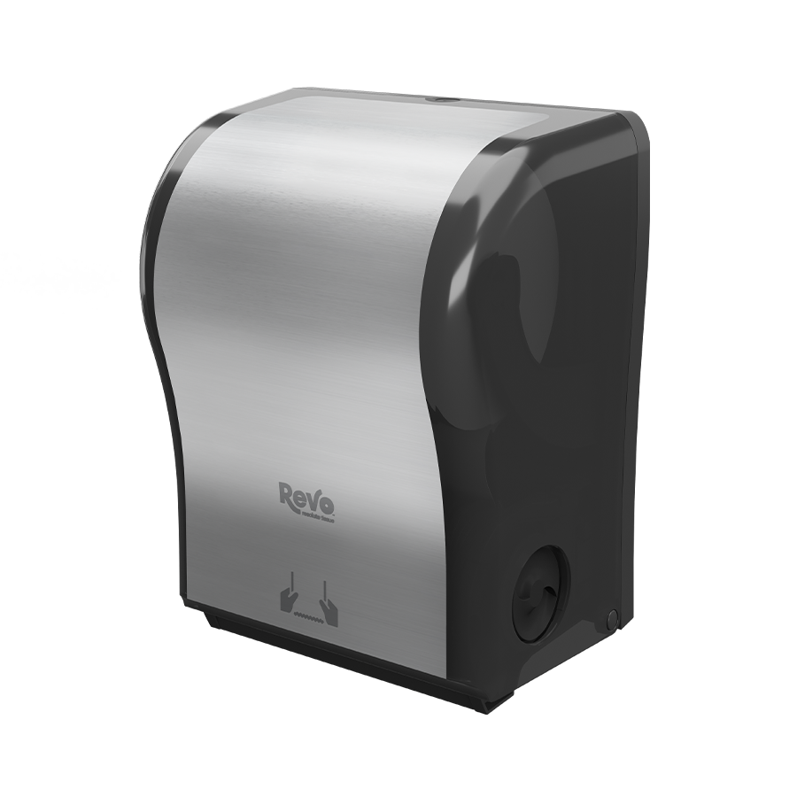 Revo™ Hands-Free Mechanical Towel Dispenser, Stainless Finish 575302 thumb